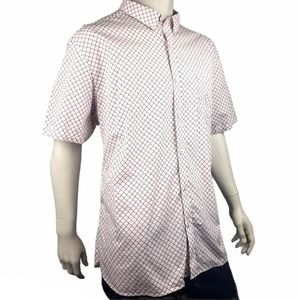 Johnston & Murphy Nautical Anchor Shirt Size 3XL